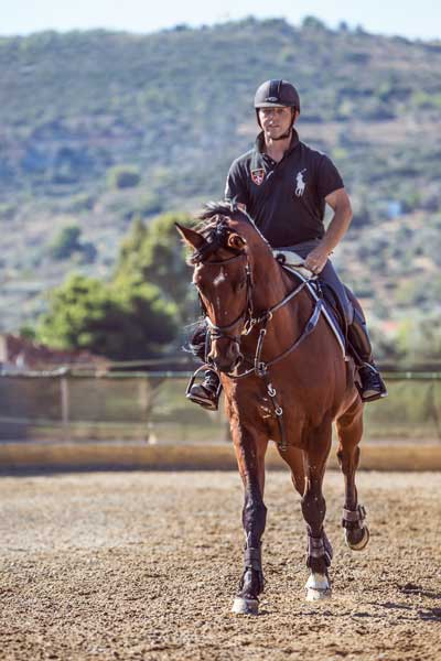 Seirios Riding Club Athens Greece - Paulos Daremas Trainer